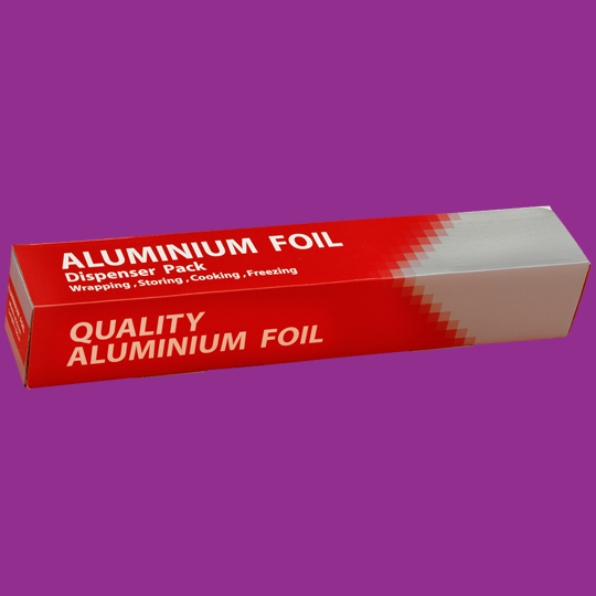 Alum foil roll box