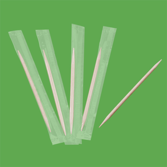 Toothpick cellowrap